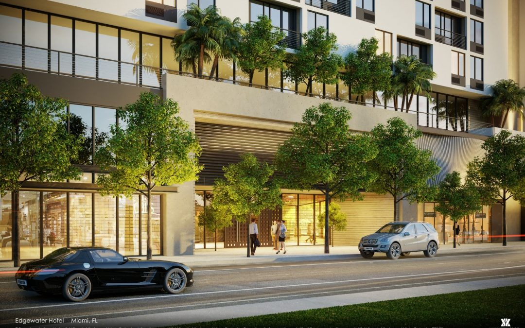 SITE WORK UNDERWAY FOR 207 ROOM HOLIDAY INN EXPRESS IN EDGEWATER AFTER DEVELOPER GETS $55M CONSTRUCTION FINANCING