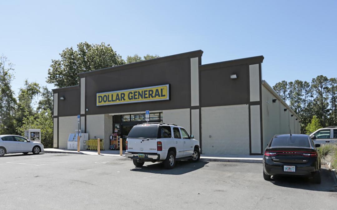 Dollar General Triple Net (NNN) Commercial Property Palatka Florida