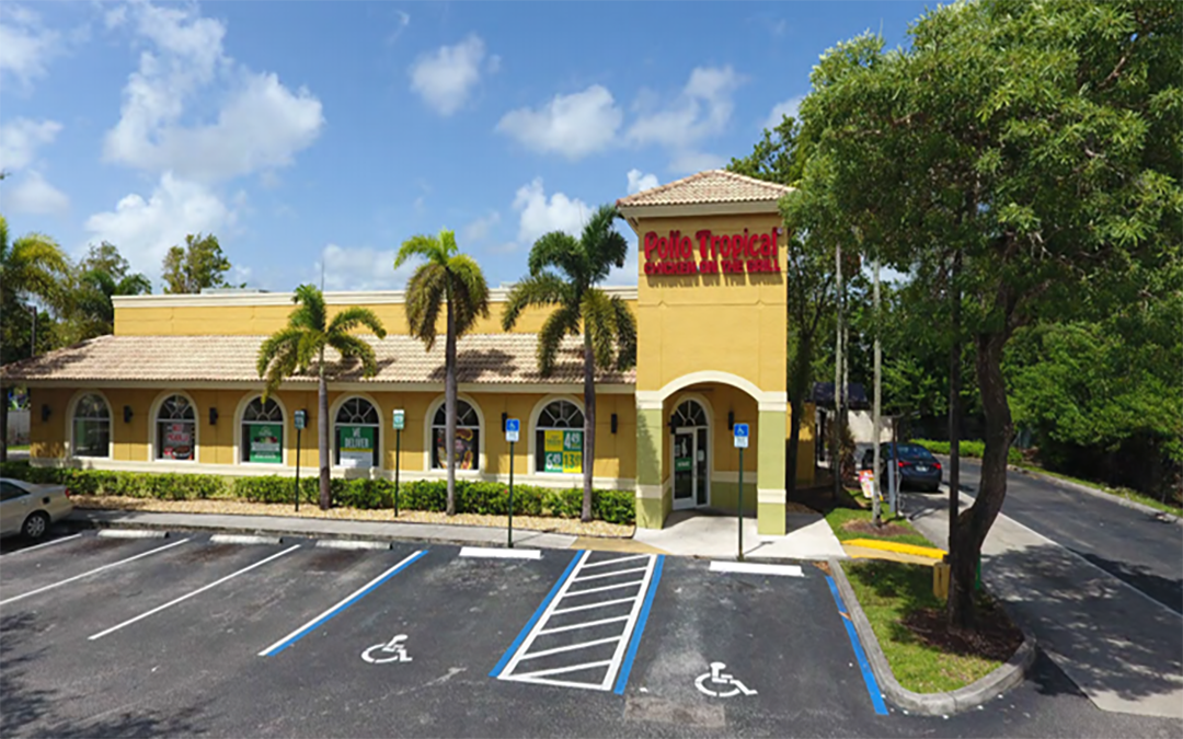 Pollo Tropical (NNN) Commercial Property  Sunrise, Florida